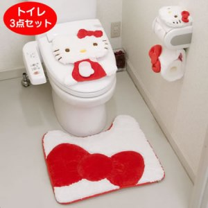 Hellokitty_Toilet_set