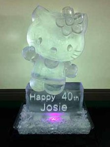 Hello-Kitty-40th-Birthday-Ice-Sculpture